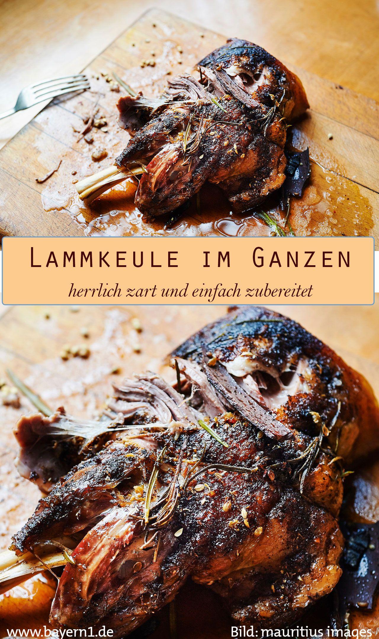 Rezept von Sternekoch Alexander Herrmann: Lammkeule im Ganzen | BR.de