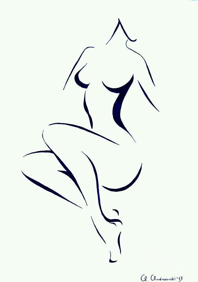 15+ Abstract human body art~