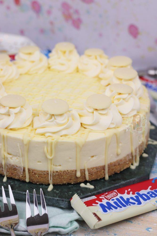Milkybar Cheesecake! - Jane's Patisserie