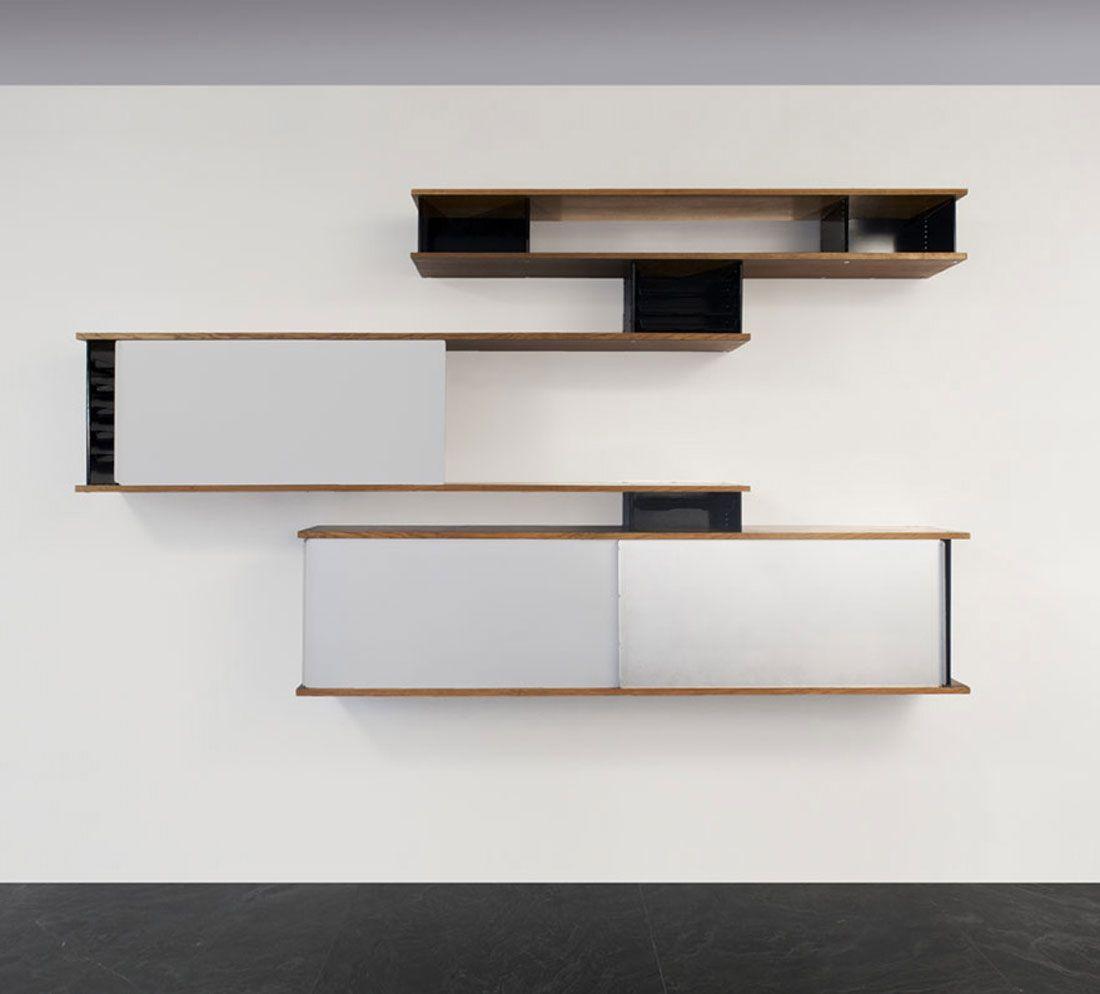 la biennale paris biblioth que murale charlotte perriand et la biblioth que. Black Bedroom Furniture Sets. Home Design Ideas
