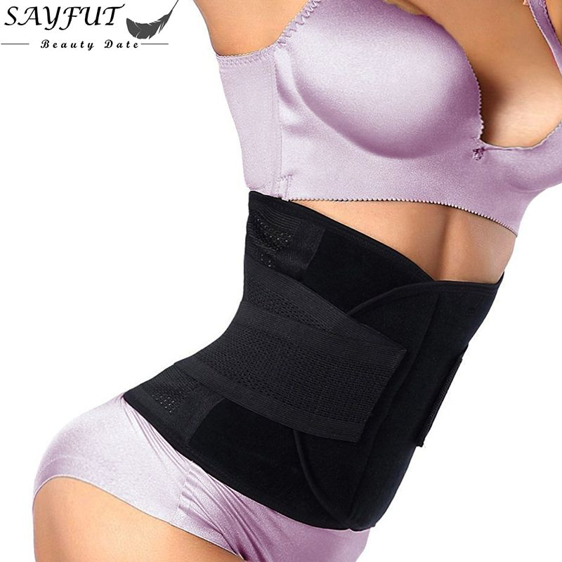 6f1db7342f5 Waist Trainer Belt Belly Band Belts Hot Body Shaper After Birth Slim Belt  Corset Postpartum Tummy