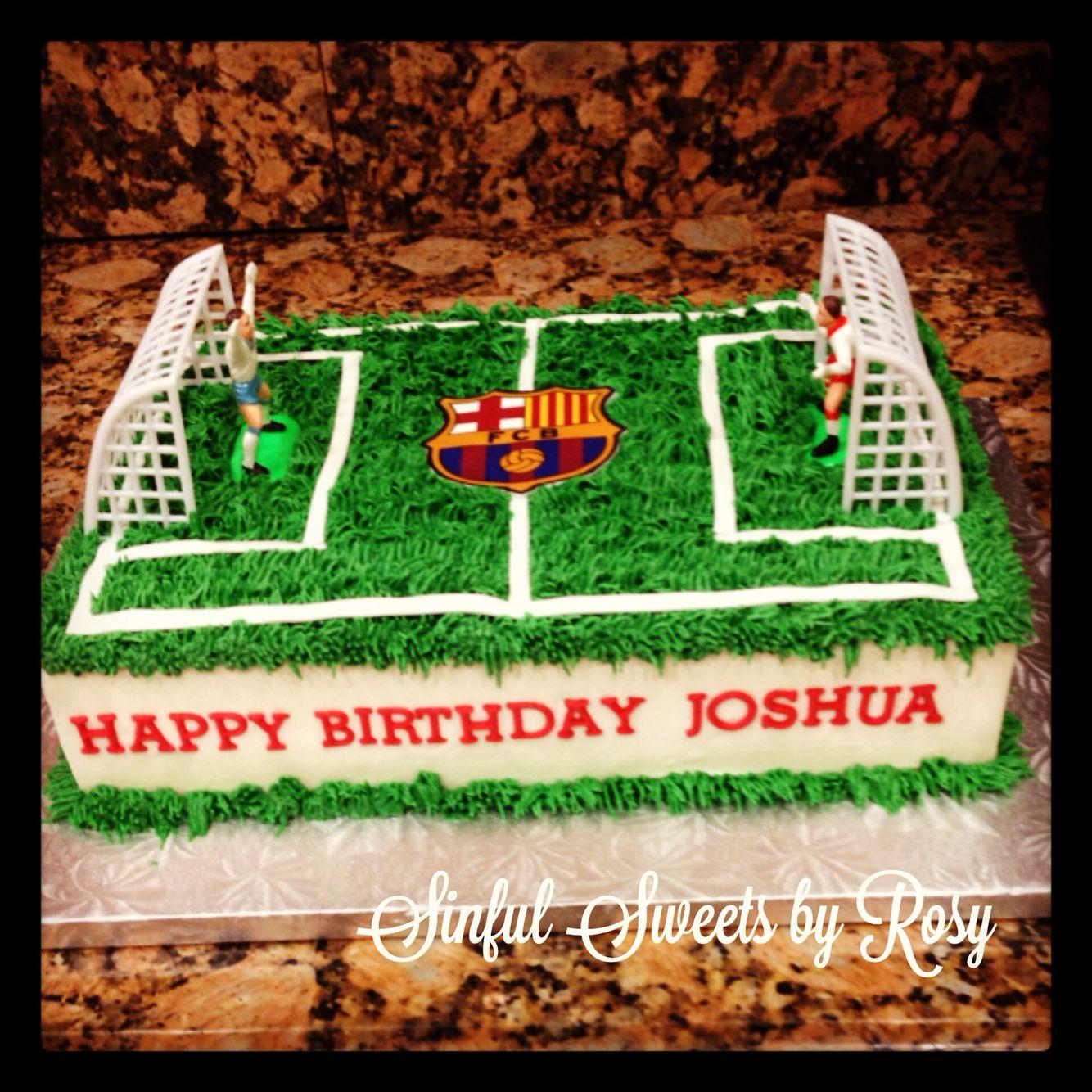 Incredible Soccer Field Cake Birthday Cake Kids Soccer Ball Cake Soccer Cake Funny Birthday Cards Online Aboleapandamsfinfo