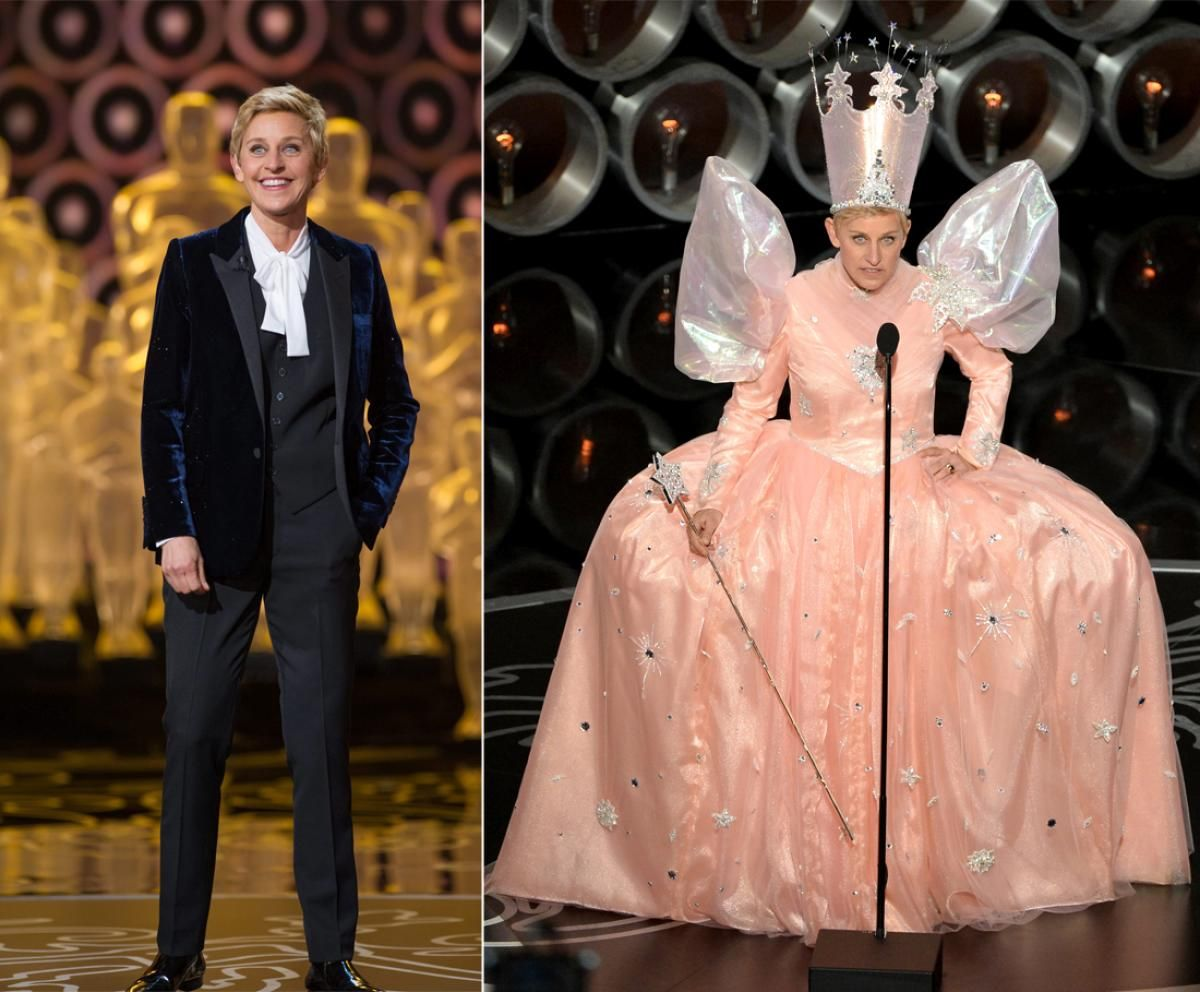 Ellen DeGeneres - Photos - Top 10 outfit changes from Oscar night ...