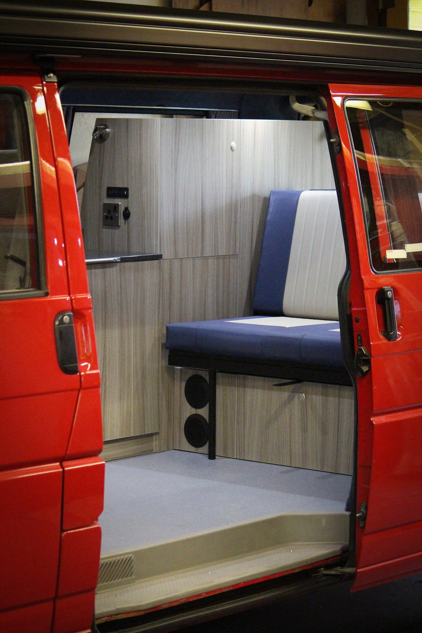 Sprinter Rv Conversion >> Speakers & subwoofer with bluetooth audio system. | VW T4 ...
