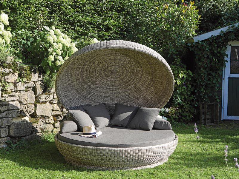 Garten Lounge Insel Outdoor Bed Outdoor Decor Decor