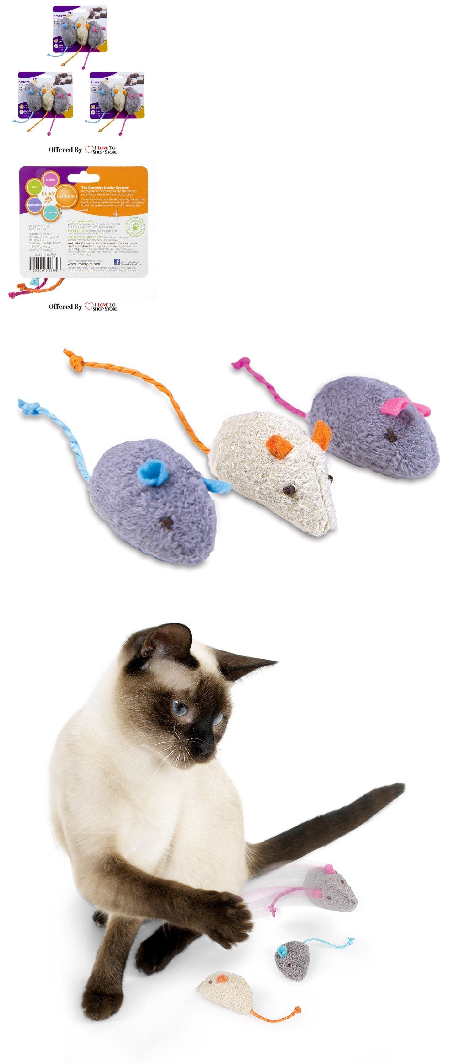 Toys 20741 Smartykat Skitter Critters Cat Toy Catnip Mice 9 Pkg Free Shipping Buy It Now Only 11 49 On Ebay Cat Toys Catnip Cat Toy Toy Sale