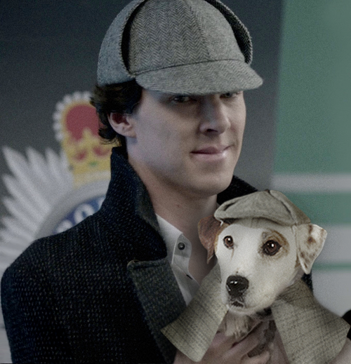 Sherlock gave credit where credit is due.