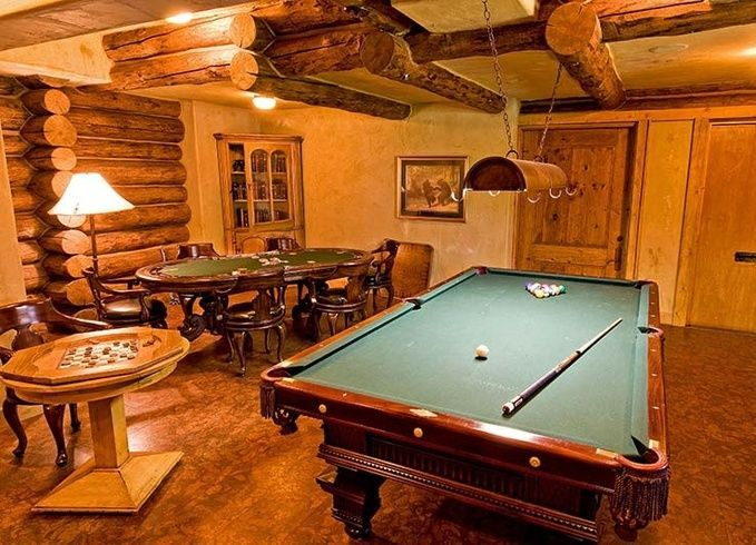 top 2014 game room ideas pictures log cabin pinterest game