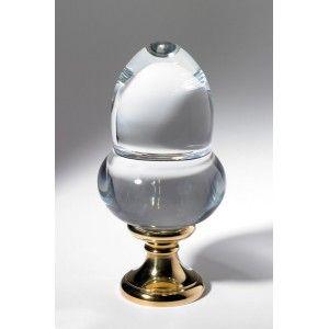 Boule d part de rampe d 39 escalier forme gland diamant - Meuble en forme d escalier ...