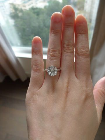 Should I Reset My Tiffany Solitaire Into An Embrace Tiffany Solitaire Buy Diamond Ring Classic Diamond Ring