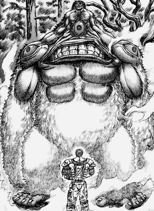 The Monsters Of Berserk Berserk Kentaro Miura Manga