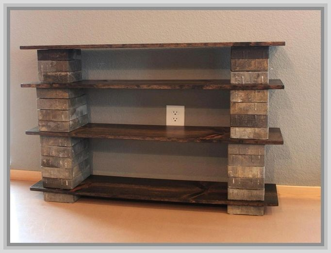 build your own bookcase headboard wood work. Black Bedroom Furniture Sets. Home Design Ideas