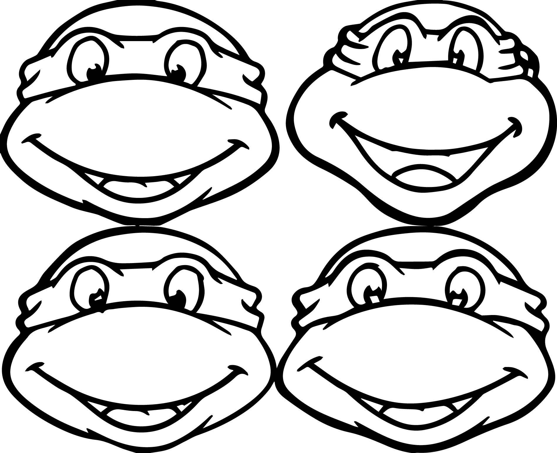 coloring pages turtles ninja songs-#26