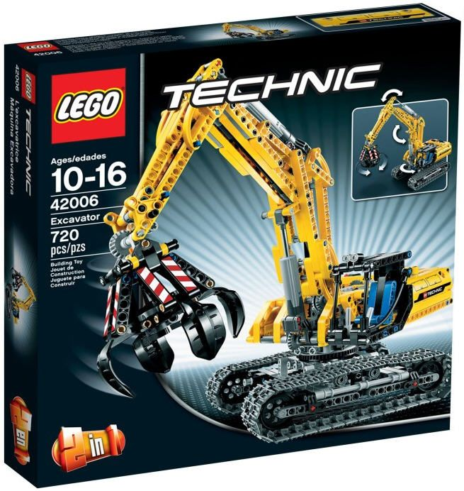 Lego Technic 42006 Construction Excavator 2 In 1 New Factory Sealed