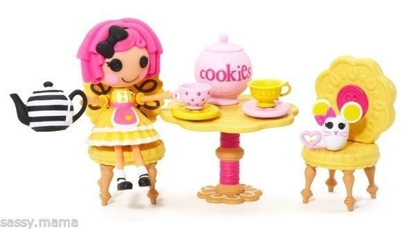 Lalaloopsy Mini Crumbs' Tea Party Furniture Set NEW ... on