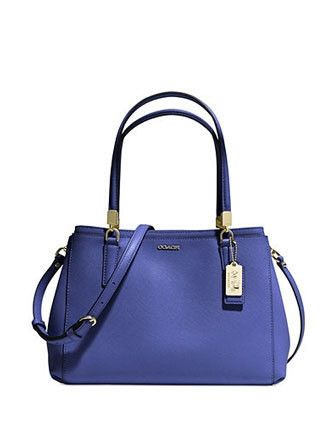 d497e559f0 Coach Madison Small Christie Carryall In Saffiano Leather Coach Handbags
