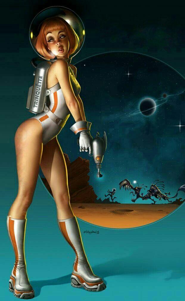 Naked scifi cartoon girls 2