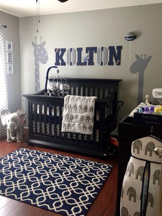 Nursery Ideas Baby Boy Bedroom Modern Room Ideas Themes Nursery Baby Boy Room Decor Baby Boy Room Nursery Nursery Room Boy