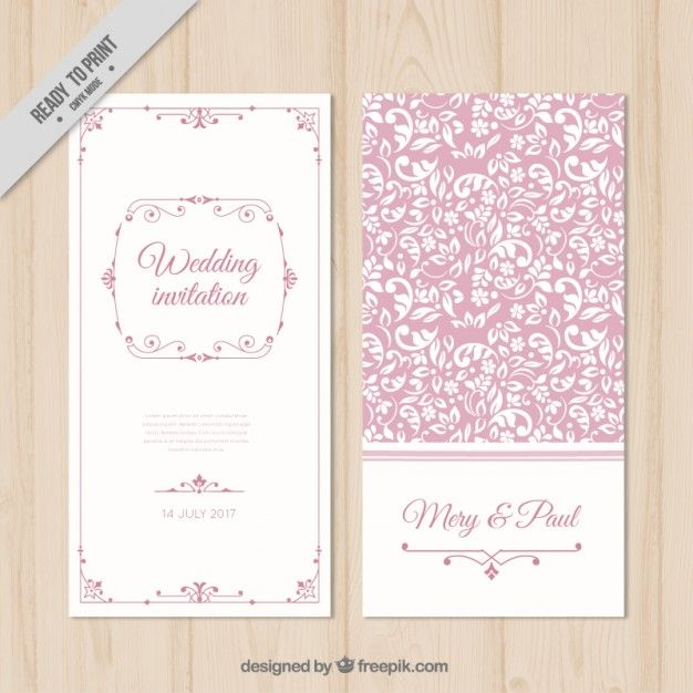 Pin by e on pinterest wedding and weddings wedding cards floral wedding invitations stationery ticket invitation background images lipsense business cards fonts pink free vector art stopboris Images