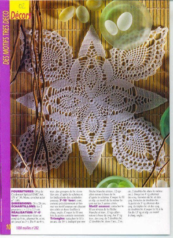 Kira scheme crochet: Scheme crochet no. 803