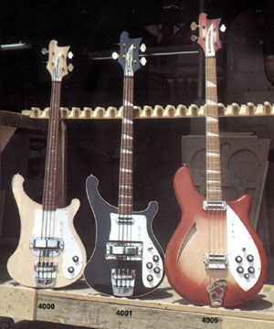 4000 4001 and 4005 basses from the 1968 Rickenbacker