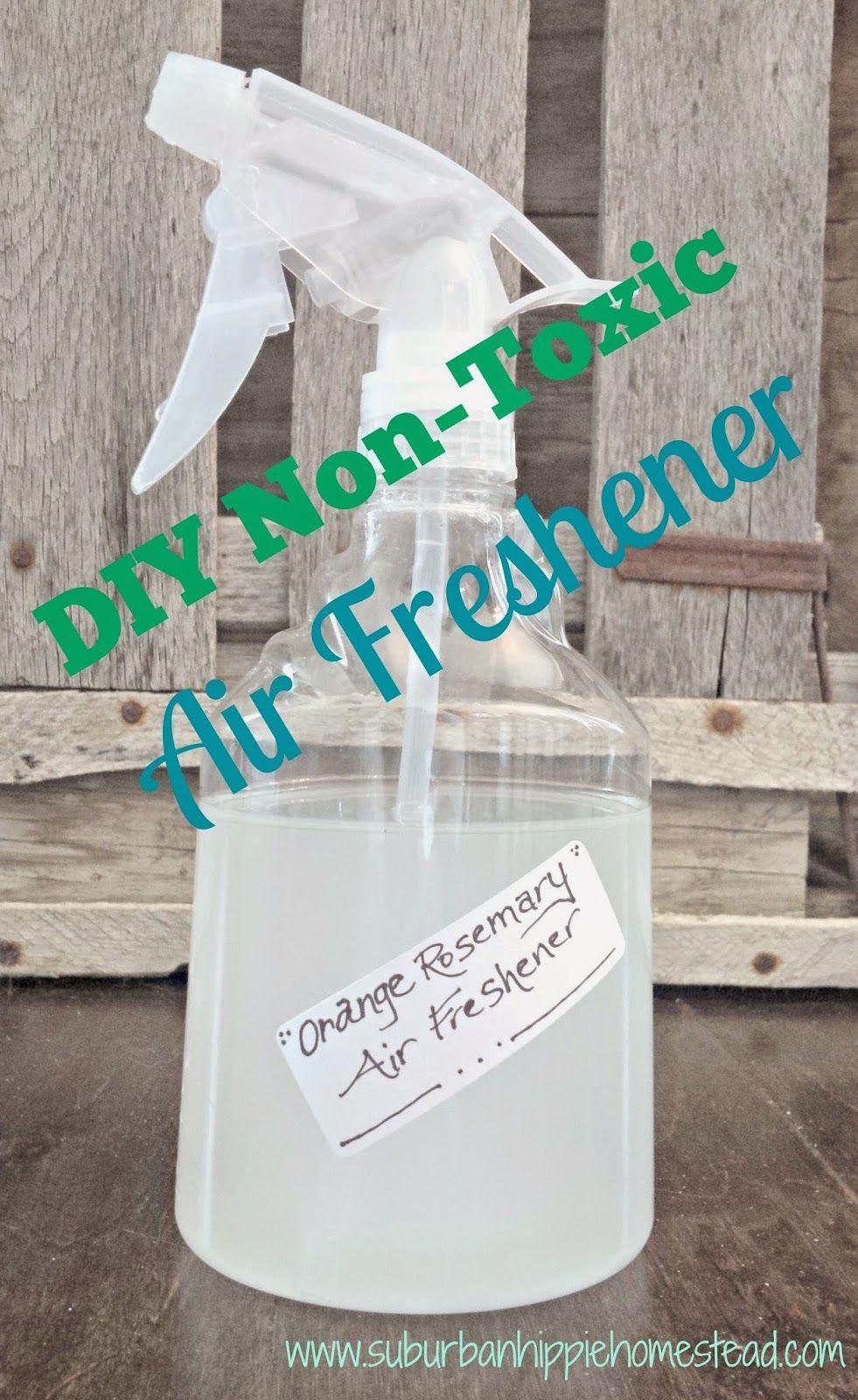 DIY NonToxic Air Freshener Air freshener, Freshener, Diy