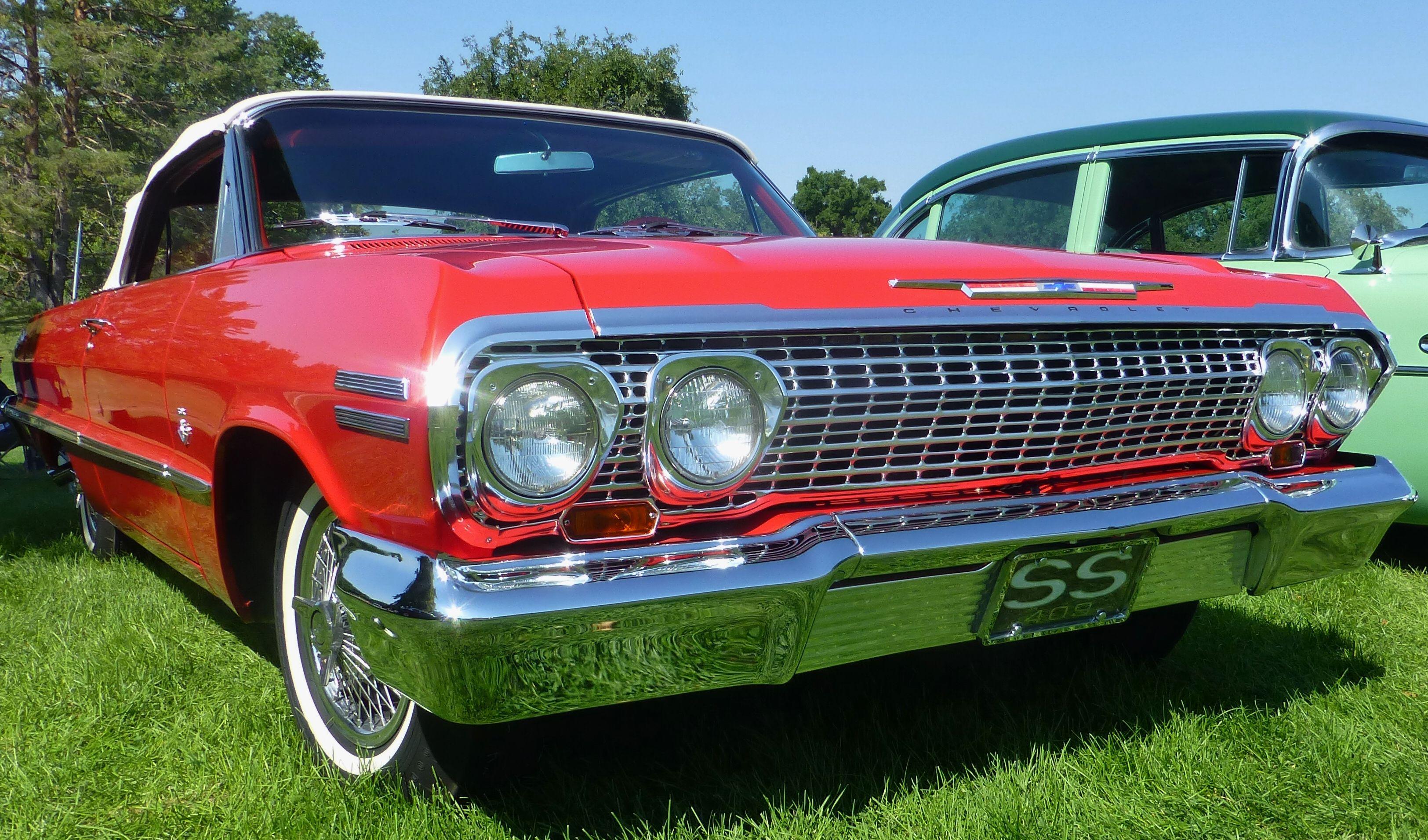 1963 Chevrolet Impala SS 409. Photography by David E. Nelson, 2017