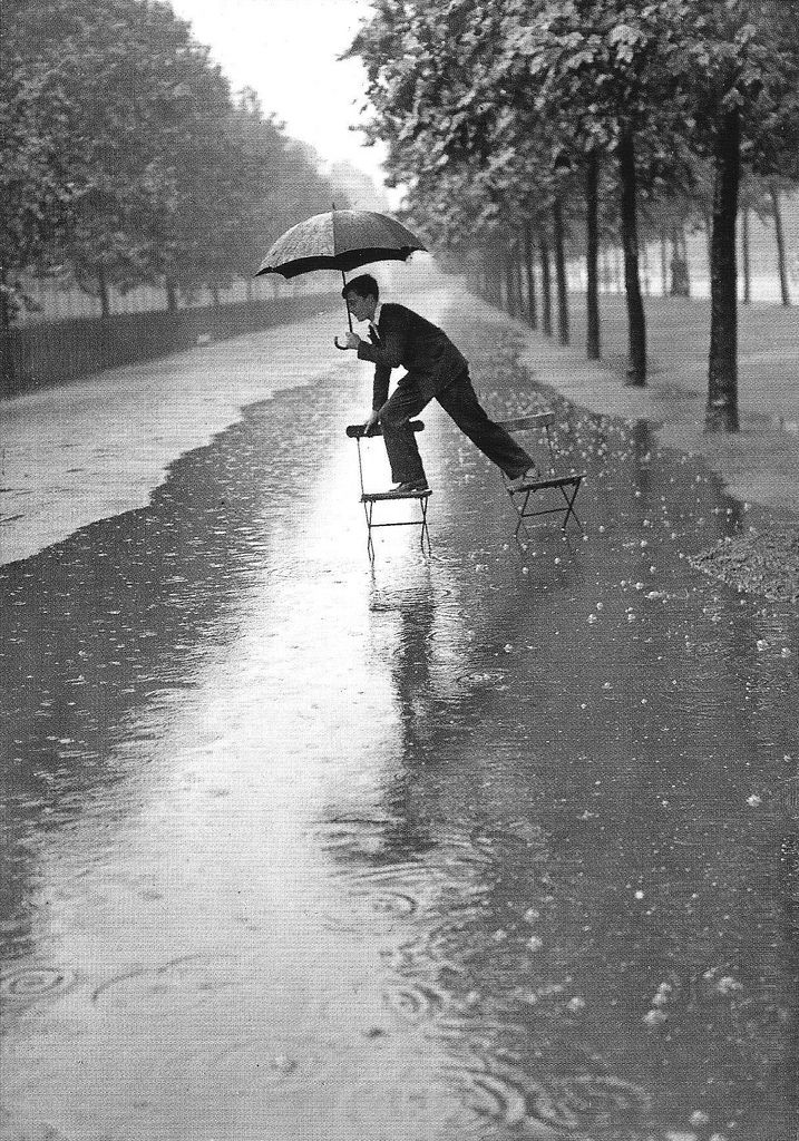 Inundaciones en Londres, 1934.