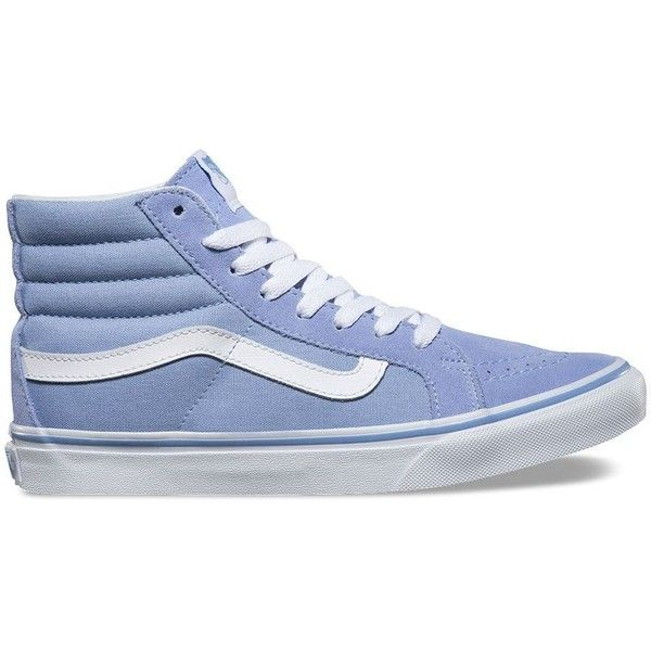 c0dc0b6c36148 Vans SK8-Hi Slim ( 65) ❤ liked on Polyvore featuring shoes ...