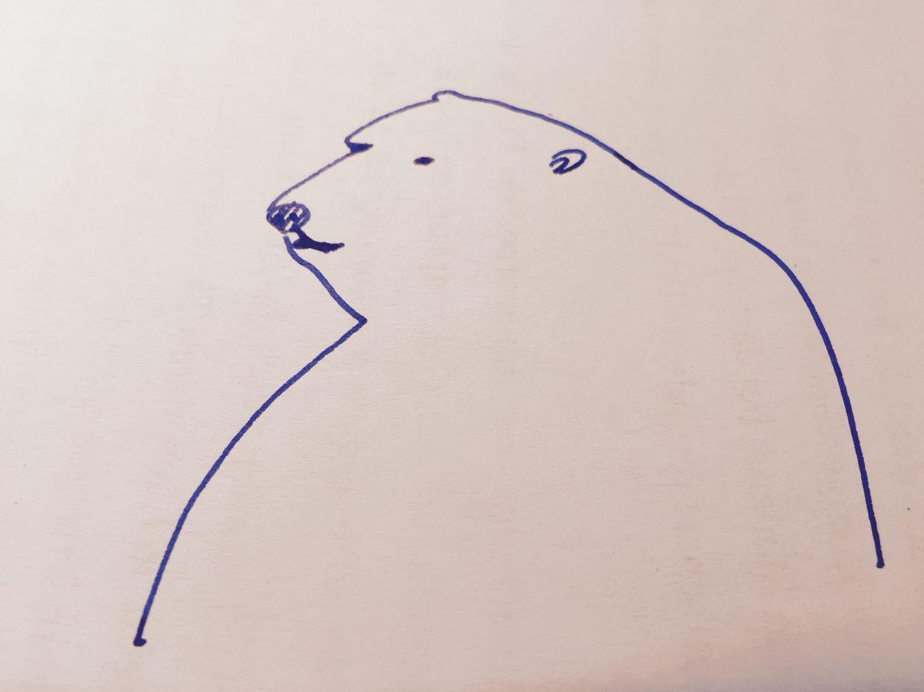 Eisbär. #eintageinbaer