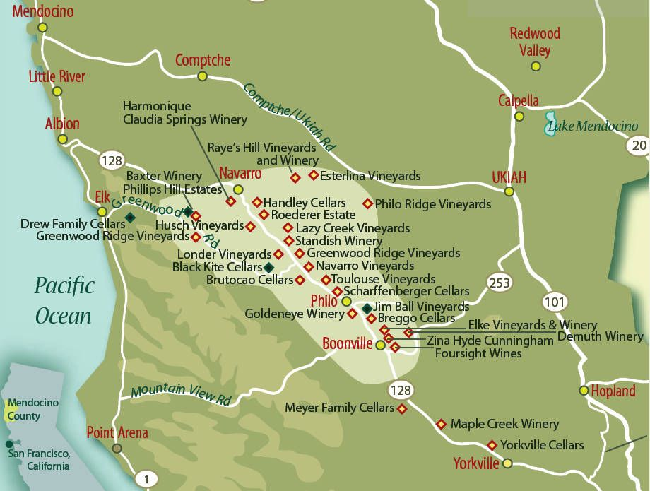 Anderson Valley Wineries  Wine Education  Pinterest  Travel usa
