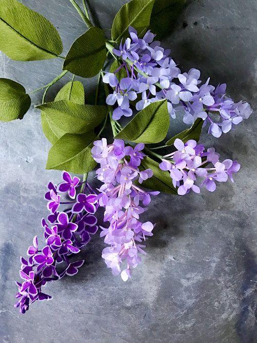 Crepe Paper Lilacs Suzonne Stirling Jpg Paper Flowers Diy Paper Flower Arrangements Paper Flowers Craft
