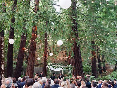 Deer Park Villa Outdoor Marin Wedding Venue Redwoods Fairfax Ca 94930