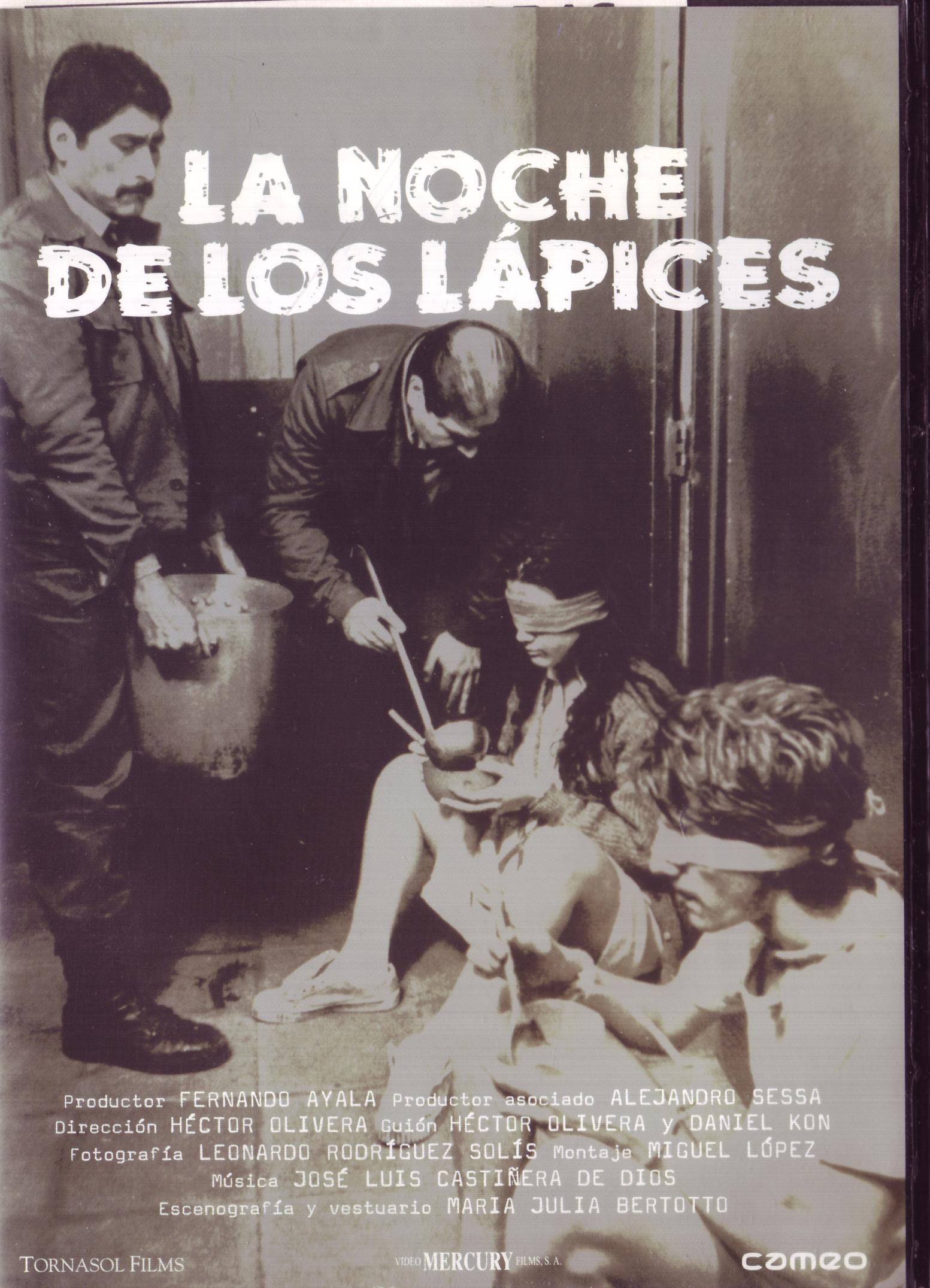 La Noche De Los Lapices Afiche De Cine Poster De Peliculas Peliculas