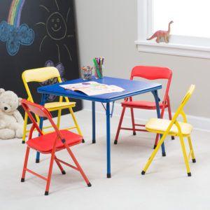 Child Size Folding Table Chair Set Http Nostalgeek Info