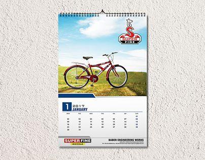 Check Out New Work On My Behance Portfolio Wall Calendar Design