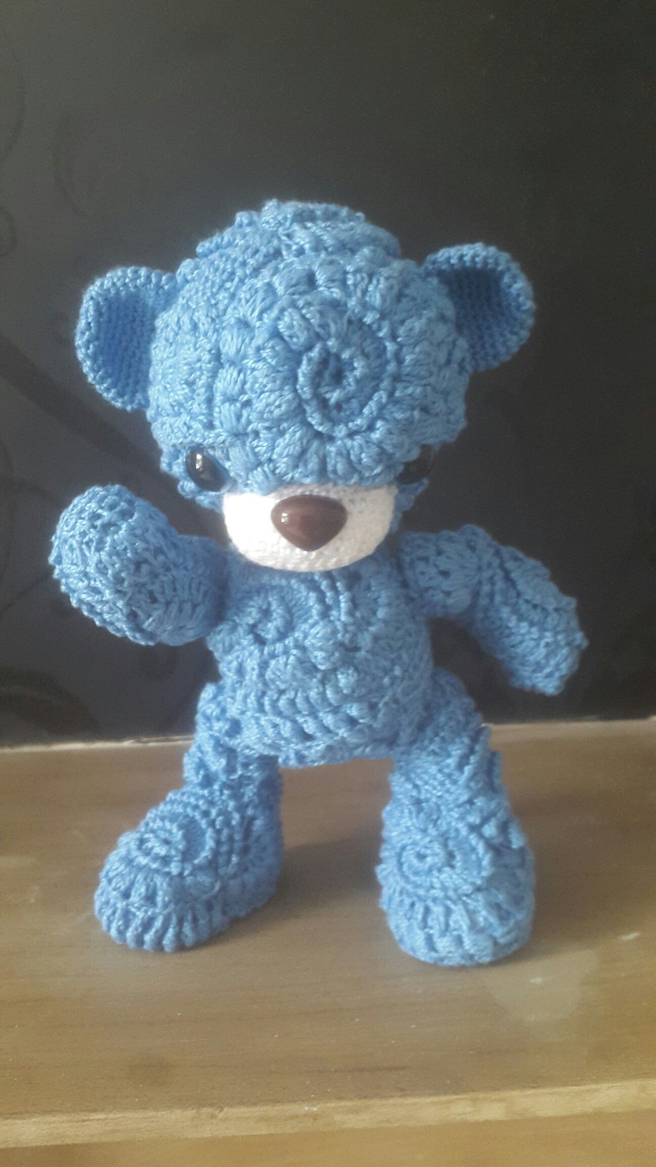 Just finished. Named Fifi the Bear. Pattern by Chudova Irene in ...