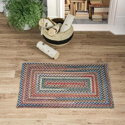 August Grove Bellmead Red Area Rug | Birch Lane