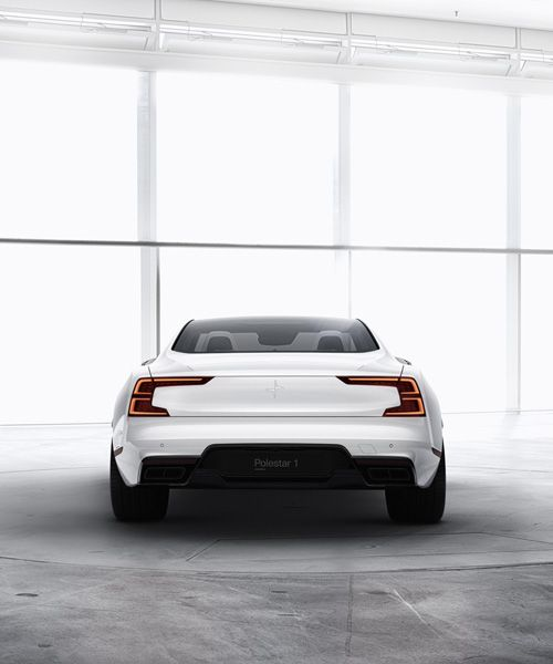 Polestar One Electric Car Is Volvo S Answer To High Performance Ev Hybrid Car Volvo Pole Star