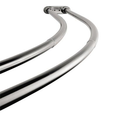 Kingston Brass Ccd217 Edenscape Adjustable Double Curved Stainless