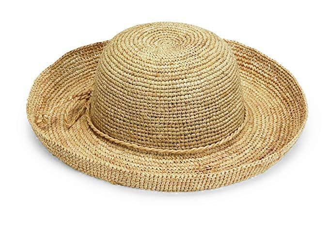 Wallaroo Hat Company Women s Catalina Sun Hat - Handwoven Twisted Raffia Sun  Hat Review 67c727fb7fdc