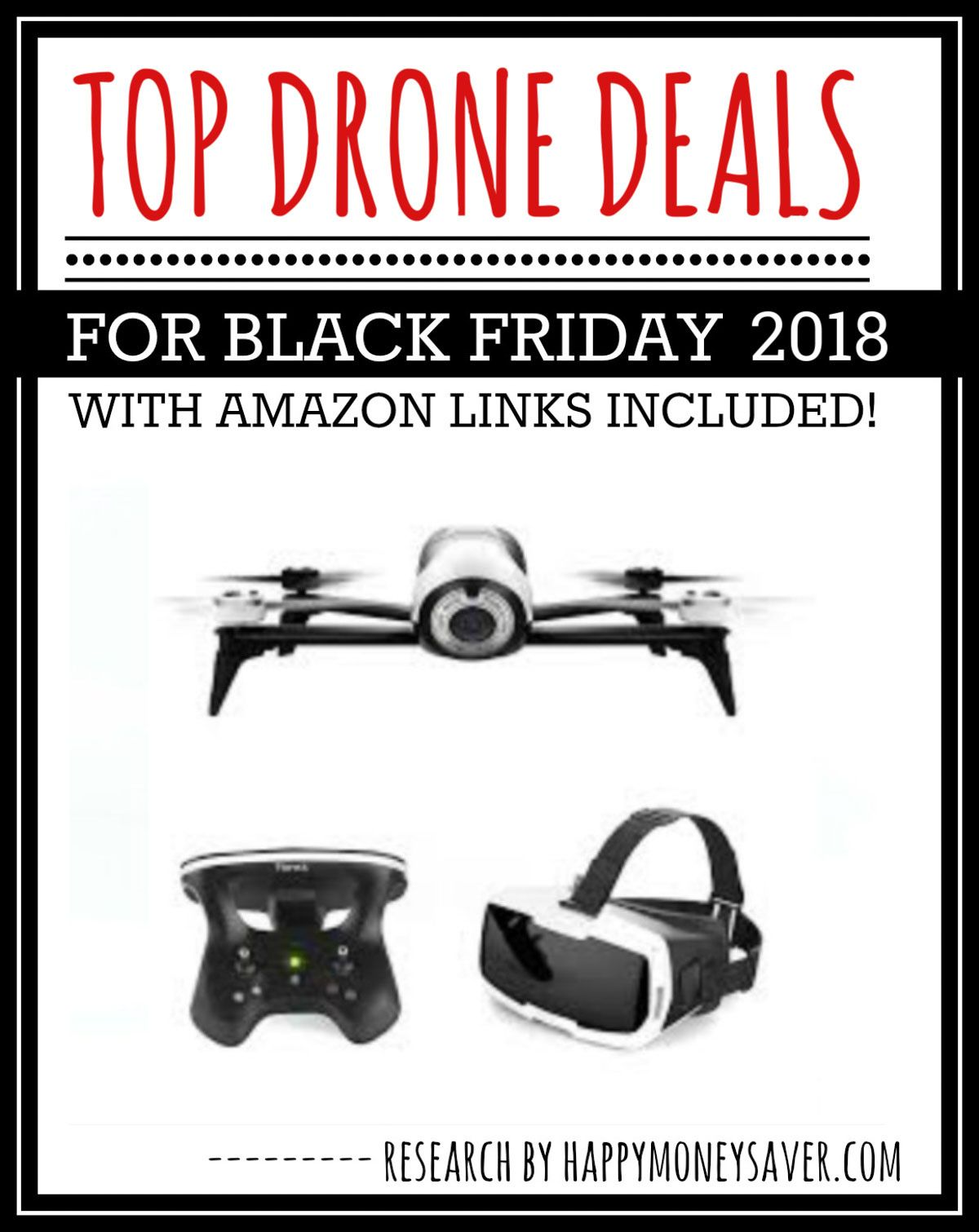 HUGE roundup of all the Black Friday Drone deals 2018