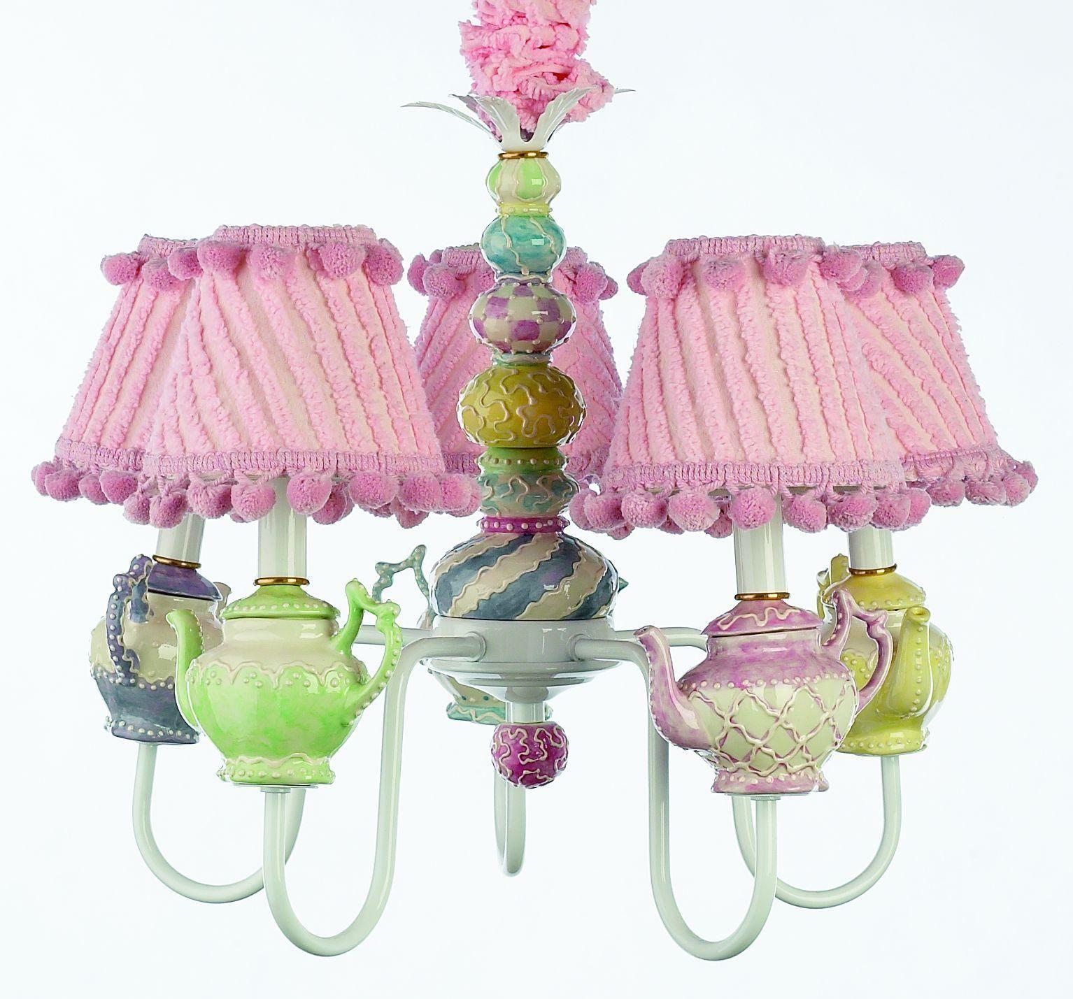 teapot decor lamp