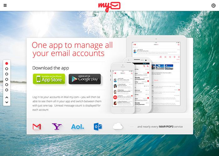 myMail #webdesign #inspiration #UI