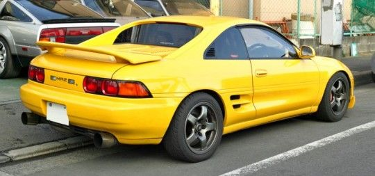 Tuning the toyota mr2.