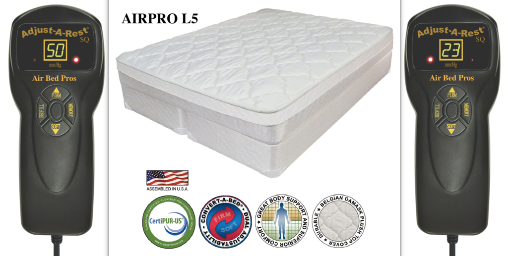 AIRPRO L5 Air Bed Compare to Sleep Number® p5 (With