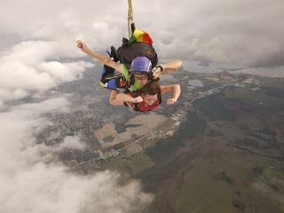 Friend Went Skydiving Couldn T Help Make Joke But Great Pictures What You Think Does Matter Jokes Great Pictures Pictures