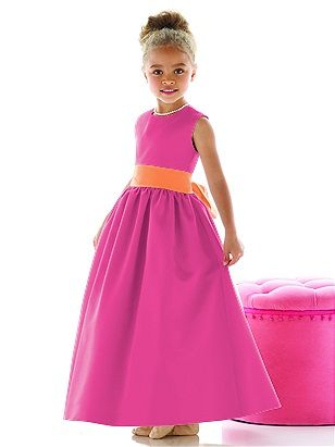 The other flower girl will wear this dress