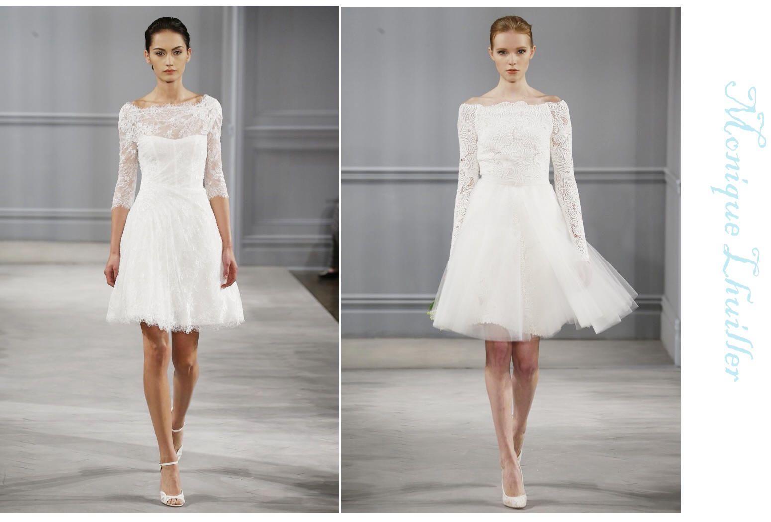 Wedding Trend! Short Wedding Dresses Country bridesmaid