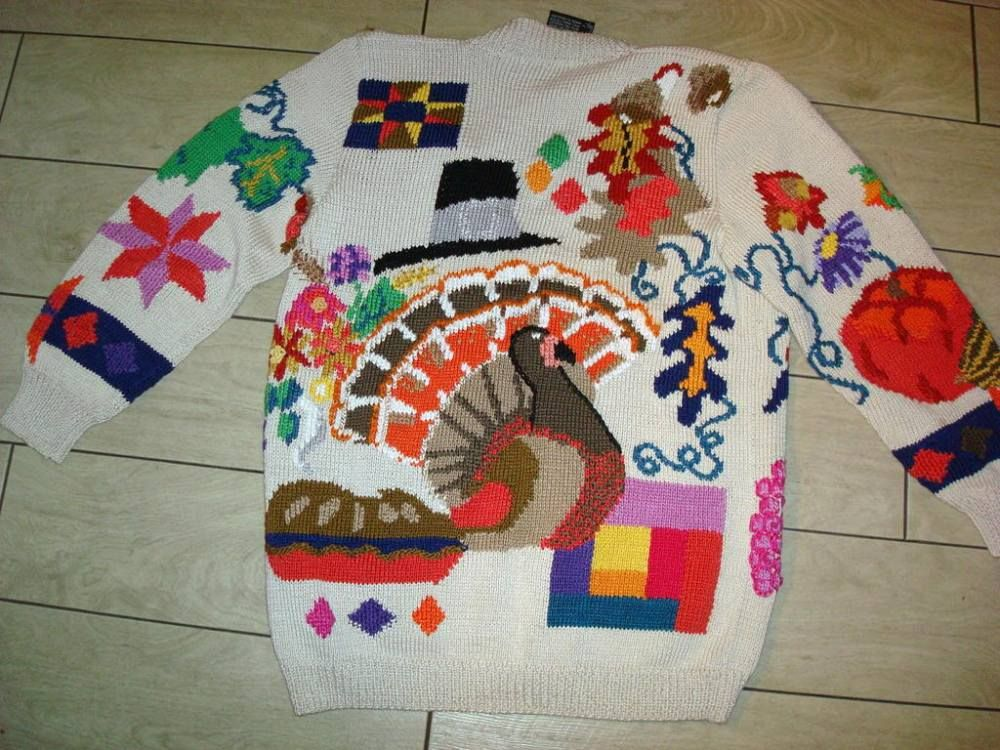 6 Best Thanksgiving Sweaters Found On Ebay (via Jimmy Fallon) + bonus fug via Cafe Mom